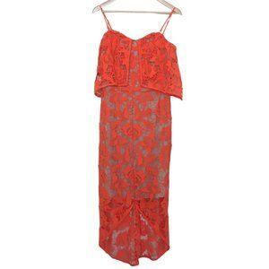 COOPER ST sz 10 guipure lace races special occasion dress removeable straps